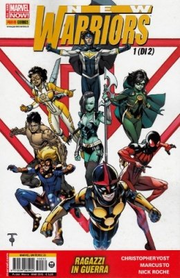 MARVEL UNIVERSE 30 - NEW WARRIORS 1