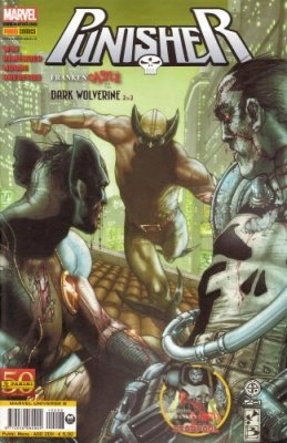 MARVEL UNIVERSE 8 - FRANKENCASTLE VS DARK WOLVERINE 2