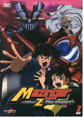 MAZINGER EDITION Z THE IMPACT BOX 01 (2 DVD)