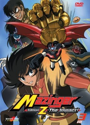 MAZINGER EDITION Z THE IMPACT BOX 03 (2 DVD)