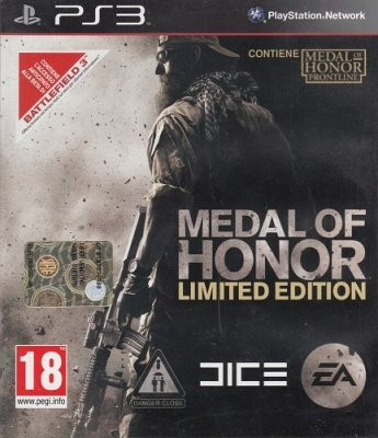 MEDAL OF HONOR LIMITED EDITION PS3 USATO GARANTITO