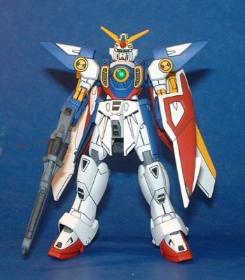 MODELLINO IN KIT GUNDAM WING XXG-01W 1/144 BANDAI MODEL KIT
