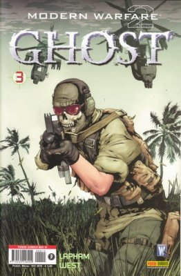 MODERN WARFARE 2 GHOST N. 3 - PANINI COMICS MIX 15