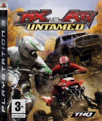 MX VS. ATV UNTAMED PS3 USATO