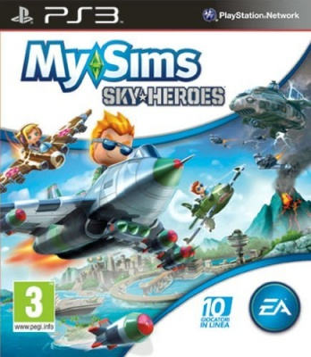 MY SIMS SKY HEROES PS3 NUOVO