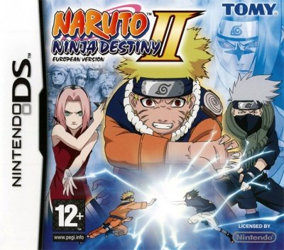 NARUTO NINJA DESTINY II EUROPEAN VERSION NINTENDO DS NUOVO