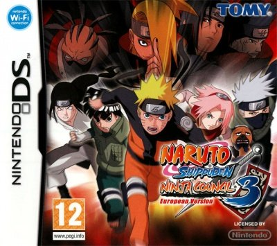 NARUTO SHIPPUDEN NINJA COUNCIL 3 EUROPEAN VERSION NINTENDO DS NUOVO