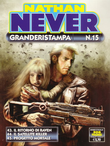 NATHAN NEVER GRANDE RISTAMPA N. 15