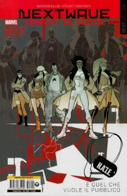 NEXTWAVE AGENTI DI HATE 1 - MARVEL BEST SELLER 9