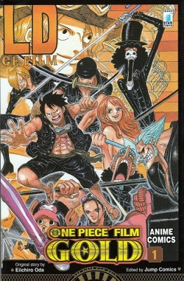 ONE PIECE GOLD: IL FILM - ANIME COMICS 1