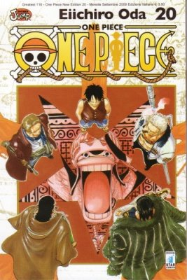 ONE PIECE NEW EDITION 20
