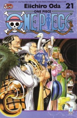 ONE PIECE NEW EDITION 21