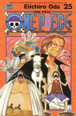 ONE PIECE NEW EDITION 25