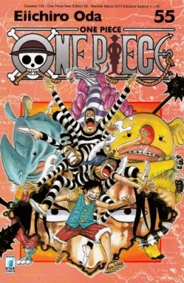 ONE PIECE NEW EDITION 55