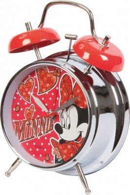 OROLOGIO SVEGLIA MINNIE MOUSE HEARTS