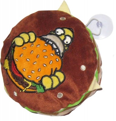 PELUCHE HAMBURGER SIMPSONS