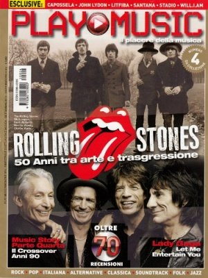 PLAY MUSIC 4 VARIANT COVER ROLLING STONES
