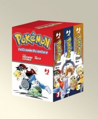POKEMON LA GRANDE AVVENTURA BOX