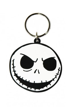 PORTACHIAVI JACK FACE NIGHTMARE BEFORE CHRISTMAS