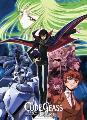 POSTER PLASTIFICATO CODE GEASS LELOUCH OF THE REBELLION