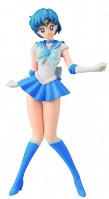 PRETTY GUARDIAN SAILOR MOON GIRLS MEMORIES SAILOR MERCURY ACTION FIGURE