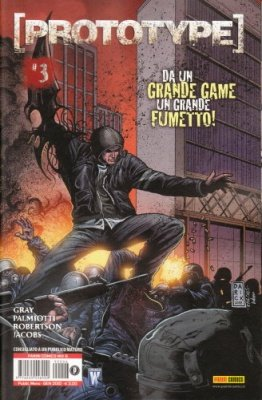 PROTOTYPE 3 (DI 3) - PANINI COMICS MIX 6