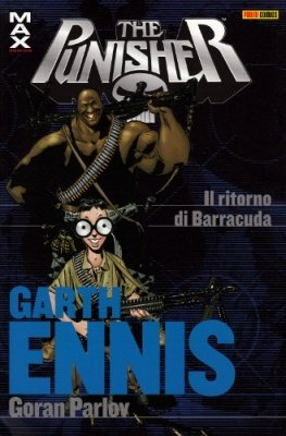 PUNISHER GARTH ENNIS COLLECTION 14 IL RITORNO DI BARRACUDA