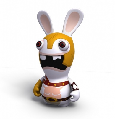 RAVING RABBIDS TRAVEL IN TIME GLADIATOR