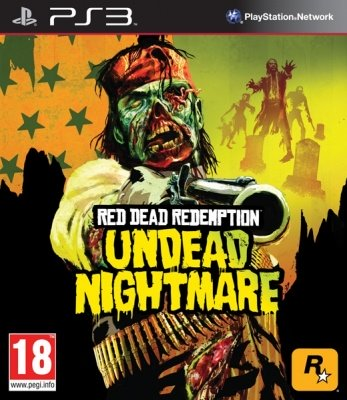 RED DEAD REDEMPTION UNDEAD NIGHTMARE PS3 NUOVO