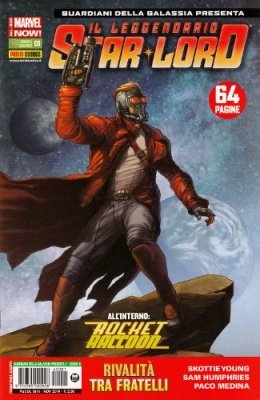 ROCKET RACCOON & IL LEGGENDARIO STAR-LORD 1 COVER B