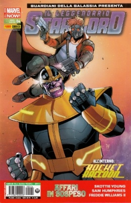ROCKET RACCOON & IL LEGGENDARIO STAR-LORD 4 COVER B