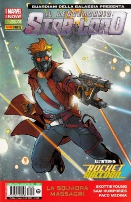 ROCKET RACCOON & IL LEGGENDARIO STAR-LORD 5 COVER B