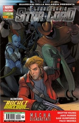 ROCKET RACCOON & IL LEGGENDARIO STAR-LORD 6 COVER B