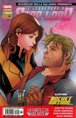 ROCKET RACCOON & IL LEGGENDARIO STAR-LORD 7 COVER B