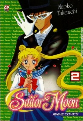 SAILOR MOON ANIME COMICS 2