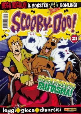 SCOOBY DOO 21 + MONSTER BOWLING IN REGALO