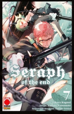 SERAPH OF THE END 7 RISTAMPA