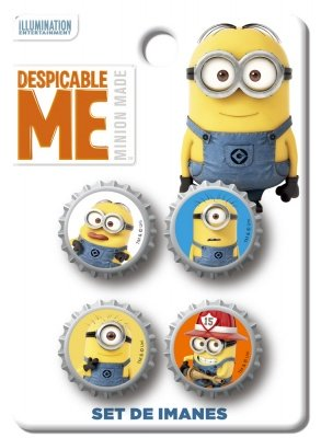 SET MAGNETI CATTIVISSIMO ME 2 - DESPICABLE ME MINION MADE