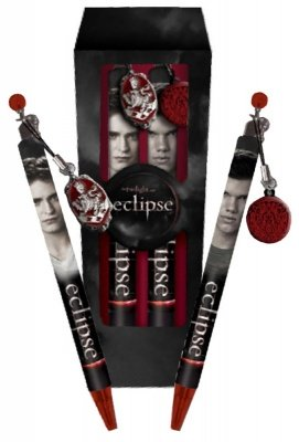SET PENNA E MATITA TWILIGHT ECLIPSE