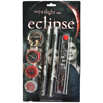 SET SCRIVANIA TWILIGHT ECLIPSE
