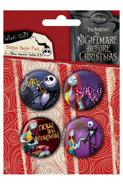 SET SPILLE JACK & SALLY NIGHTMARE BEFORE CHRISTMAS