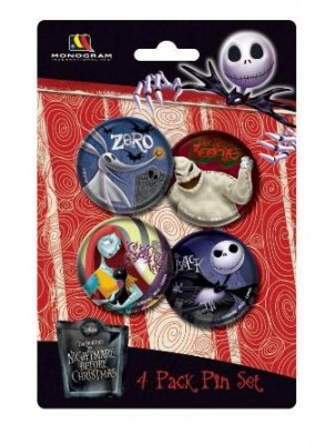 SET SPILLE NBX NIGHTMARE BEFORE CHRISTMAS