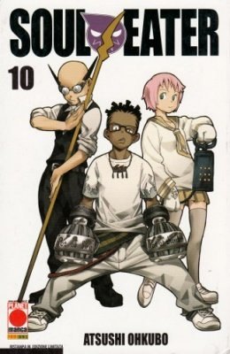 SOUL EATER 10 RISTAMPA