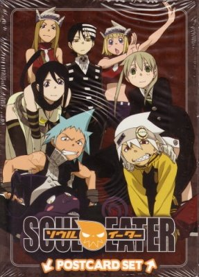 SOUL EATER POSTCARDS SET