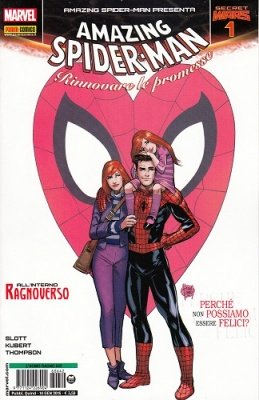 SPIDER-MAN 642 - L'UOMO RAGNO - AMAZING SPIDER-MAN PRESENTA 1 - SECRET WARS 1