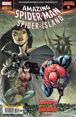 SPIDER-MAN 644 - L'UOMO RAGNO - AMAZING SPIDER-MAN PRESENTA 3 - SECRET WARS 3