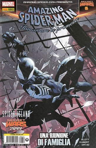 SPIDER-MAN 647 - L'UOMO RAGNO - AMAZING SPIDER-MAN PRESENTA 6 - SECRET WARS 6