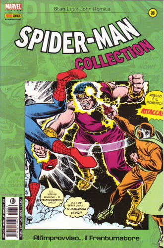 SPIDER-MAN COLLECTION 39: ALL'IMPROVVISO... IL FRANTUMATORE