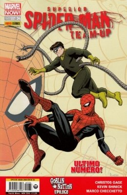 SPIDER-MAN UNIVERSE 34 - SUPERIOR SPIDER-MAN TEAM UP 9 MARVEL NOW!