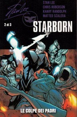 STAN LEE STARBORN 2 - 100% PANINI COMICS